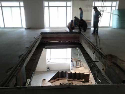 Steel Floor Covering