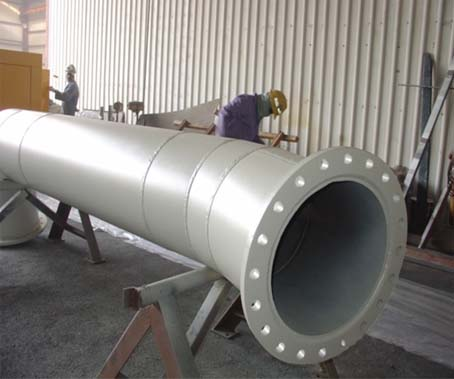 Heavy steel pipe, 20mm thick, 600m diameter