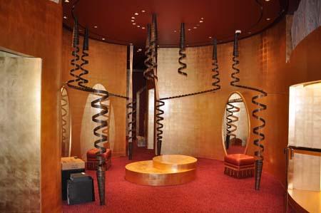 Spiral Brass Decor