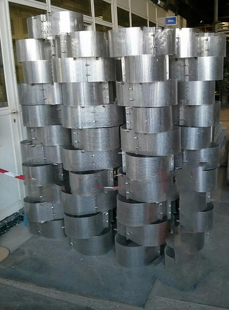 Safety Guard for Furnace Pipe